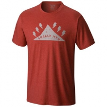 Men's Gnar Mountain Short Sleeve T by Mountain Hardwear in Traverse City Mi