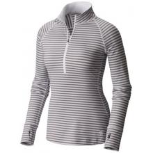 Women's Butterlicious Stripe Long Sleeve 1/2 Zi by Mountain Hardwear in Aspen Co
