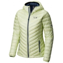 Women's Micro Ratio Hooded Down Jacket by Mountain Hardwear in Arcata Ca