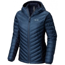 Women's Micro Ratio Hooded Down Jacket by Mountain Hardwear in Marina Ca