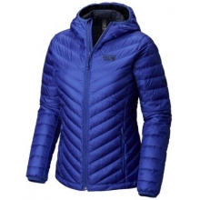 Women's Micro Ratio Hooded Down Jacket by Mountain Hardwear in Red Deer Ab