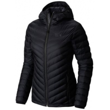 Women's Micro Ratio Hooded Down Jacket by Mountain Hardwear in Medicine Hat Ab