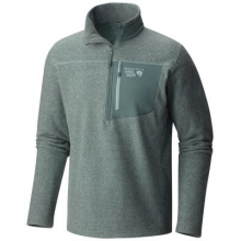 Men's Toasty Twill Fleece 1/2 Zip by Mountain Hardwear