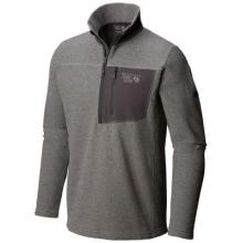Men's Toasty Twill Fleece 1/2 Zip by Mountain Hardwear