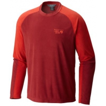 Men's Microchill Lite Long Sleeve Crew by Mountain Hardwear in Cold Lake Ab