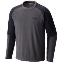 Men's Microchill Lite Long Sleeve Crew by Mountain Hardwear in Ofallon Il