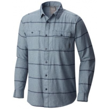 Men's Frequenter Stripe Long Sleeve Shirt by Mountain Hardwear