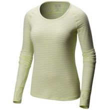 Women's Butterlicious Stripe Long Sleeve Crew by Mountain Hardwear in Vernon BC