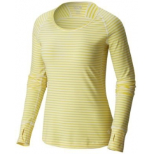 Women's Butterlicious Stripe Long Sleeve Crew by Mountain Hardwear