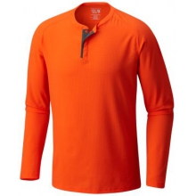 Men's AC Long Sleeve Henley by Mountain Hardwear