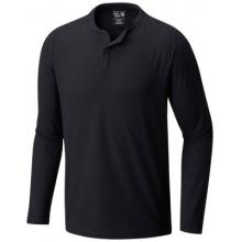 Men's AC Long Sleeve Henley by Mountain Hardwear