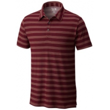 Men's ADL Stripe Short Sleeve Polo