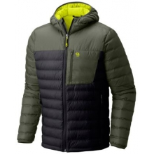Men's Dynotherm Hooded Down Jacket by Mountain Hardwear in Lewiston Id