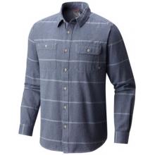 Men's Frequenter Stripe Long Sleeve Shirt by Mountain Hardwear in Ponderay Id