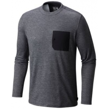 Men's Mainframe Crew Long Sleeve Shirt by Mountain Hardwear