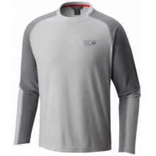 Men's Microchill Lite Long Sleeve Crew by Mountain Hardwear in Champaign Il