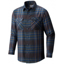Men's Trekkin Flannel Long Sleeve Shirt by Mountain Hardwear