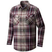Men's Trekkin Flannel Long Sleeve Shirt by Mountain Hardwear in Kirkwood Mo