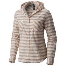 Women's Acadia Stretch Hooded Long Sleeve Shirt