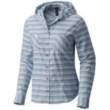Women's Acadia Stretch Hooded Long Sleeve Shirt by Mountain Hardwear in Prescott Az
