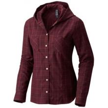 Women's Acadia Stretch Hooded Long Sleeve Shirt by Mountain Hardwear