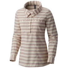 Women's Acadia Stretch Long Sleeve Popover by Mountain Hardwear in Forest City Nc