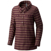 Women's Acadia Stretch Long Sleeve Popover by Mountain Hardwear in Ann Arbor Mi