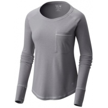 Women's Daisy Chain Long Sleeve by Mountain Hardwear in Cold Lake Ab
