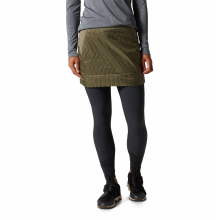 Women's Trekkin Insulated Mini Skirt by Mountain Hardwear