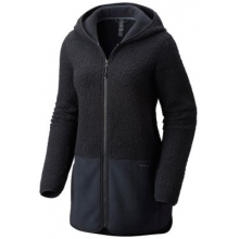 Women's Warmsby Fleece Hooded Parka by Mountain Hardwear in Kirkwood Mo