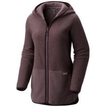 Women's Warmsby Fleece Hooded Parka by Mountain Hardwear