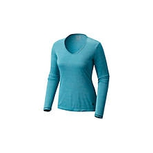 Women's Wicked Printed Long Sleeve Zip T by Mountain Hardwear