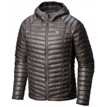 Men's Ghost Whisperer Hooded Down Jacket by Mountain Hardwear in Colorado Springs Co