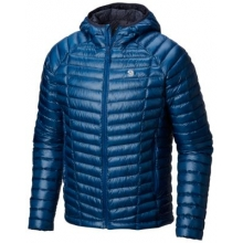 Men's Ghost Whisperer Hooded Down Jacket by Mountain Hardwear in Red Deer Ab