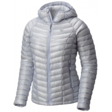 Women's Ghost Whisperer Hooded Down Jacket by Mountain Hardwear in Fort Collins Co
