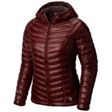 Women's Ghost Whisperer Hooded Down Jacket by Mountain Hardwear in Glenwood Springs CO