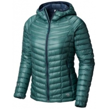 Women's Ghost Whisperer Hooded Down Jacket by Mountain Hardwear in Flagstaff Az