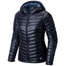 Women's Ghost Whisperer Hooded Down Jacket by Mountain Hardwear in Campbell Ca