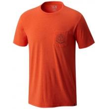 Men's 3 Peaks Short Sleeve Pocket T by Mountain Hardwear