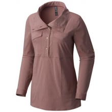 Women's Citypass Long Sleeve Popover by Mountain Hardwear in Fayetteville Ar