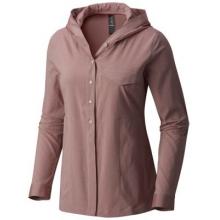 Women's Citypass Long Sleeve Shirt by Mountain Hardwear in Red Deer Ab