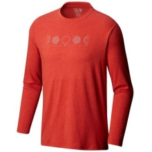 Men's Phases of the Space Station Long Sleeve