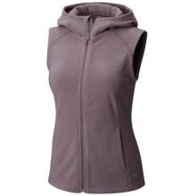Women's MicroChill Hooded Vest by Mountain Hardwear in Golden CO