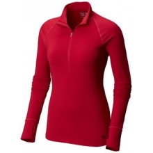 Women's Butterlicious Long Sleeve 1/2 Zip by Mountain Hardwear in San Francisco Ca
