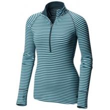 Women's Butterlicious Stripe Long Sleeve 1/2 Zi by Mountain Hardwear