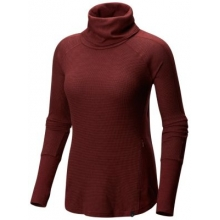 Women's EDP Waffle Long Sleeve Turtleneck by Mountain Hardwear in Nanaimo Bc