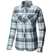 Women's Acadia Stretch Long Sleeve Shirt by Mountain Hardwear in Courtenay Bc