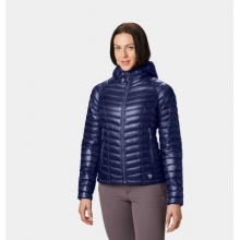Women's Ghost Whisperer Hooded Down Jacket by Mountain Hardwear in Rocky View No 44 Ab