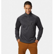 Men's Norse Peak Half Zip Pullover by Mountain Hardwear in Cold Lake Ab