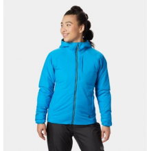 Women's Kor Strata Hoody by Mountain Hardwear in Cold Lake Ab
